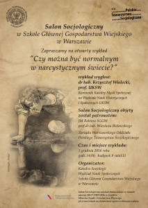 Zaproszenie na Salon Socjologiczny