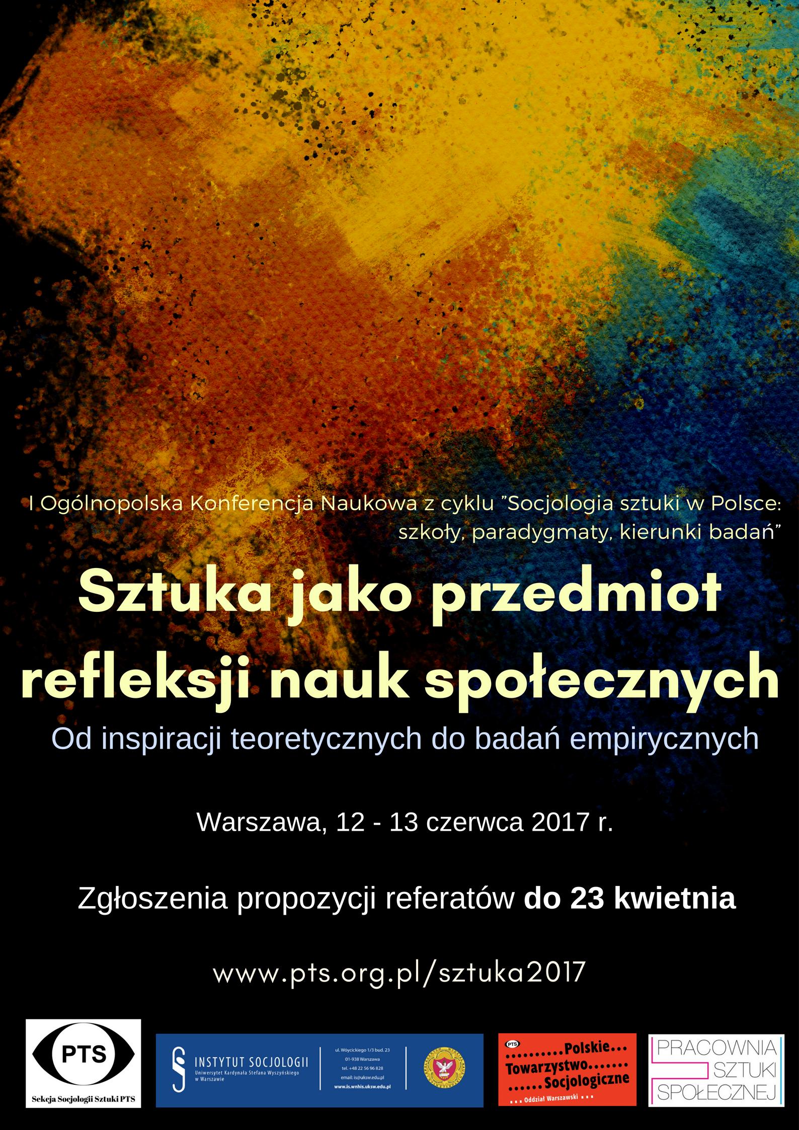 Poster sztuka 2017