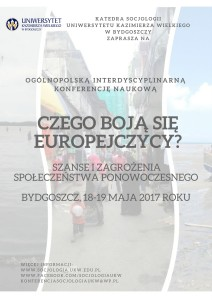 UKW socjologia konferencja plakat