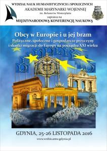 Obcy w Europie_plakat